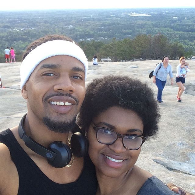 Her 1st time to the top. So proud of her | #fitfam #fitness #exercise #cardio #mountainclimbing #hiking #dedication #motivation #support #teamwork